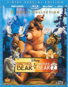 Brother Bear: 2 Movie Collection (Blu-ray + DVD Combo) Blu-ray