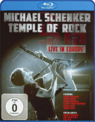 Michael Schenker: Temple Of Rock - Live In Europe Blu-ray
