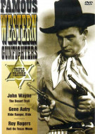 Famous Western Gunfighters: The Desert Trail/ Ride Ranger, Ride/ Roll On Texas Moon Movie