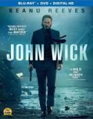 John Wick (Blu-ray + DVD + UltraViolet) Blu-ray