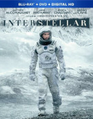 Interstellar (Blu-ray + DVD + UltraViolet) Blu-ray