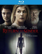 Return To Sender Blu-ray