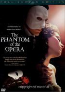 Phantom Of The Opera, The (Fullscreen) Movie