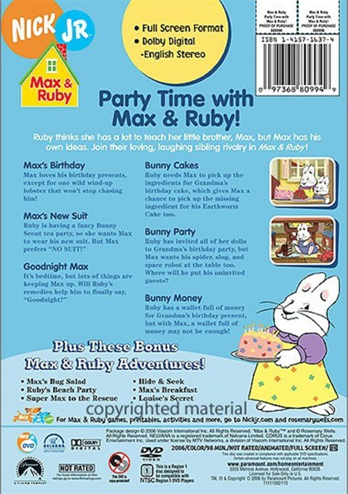 Max Amp Ruby Party Time With Max Amp Ruby Dvd 2006 Dvd Empire