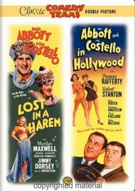 Abbott & Costello: Lost In A Harem / Abbott & Costello In Hollywood Movie