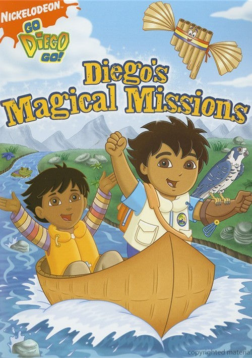 go diego go magical missions dvd 2007 dvd empire