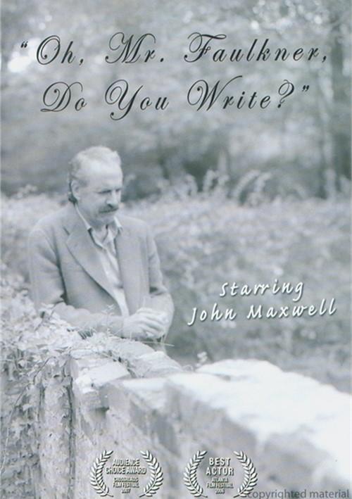 Oh Mr. Faulkner, Do You Write? Movie