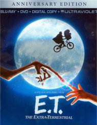 E.T. The Extra-Terrestrial: 30th Anniversary Edition (Blu-ray + DVD + Digital Copy + UltraViolet) Blu-ray