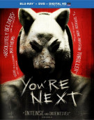 Youre Next (Blu-ray + DVD + UltraViolet) Blu-ray