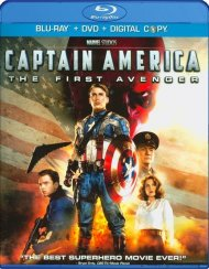 Captain America: The First Avenger (Blu-ray + DVD + Digital Copy) Blu-ray