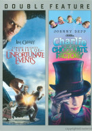 Lemony Snickets / Charlie And The Chocolate Factory (Double Feature) Movie