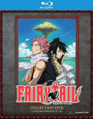 Fairy Tail: Collection Five (Blu-ray + DVD Combo) Blu-ray