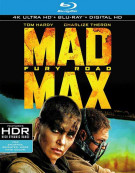 Mad Max: Fury Road (4K Ultra HD + Blu-ray + UltraViolet) Blu-ray