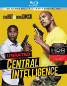 Central Intelligence (4K Ultra HD + Blu-ray + UltraViolet) Blu-ray