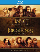 Hobbit Triolgy, The / The Lord of The Rings Trilogy Blu-ray