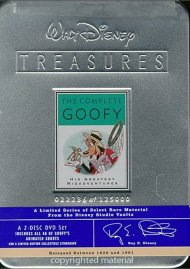 Complete Goofy, The: Walt Disney Treasures Limited Edition Tin Movie