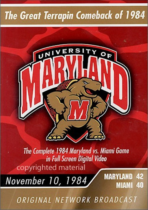 1984 Maryland Vs. Miami Movie