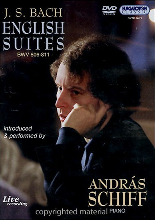 Bach: English Suites - Andras Schiff Movie