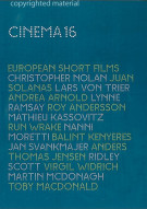Cinema 16: European Short Films Movie
