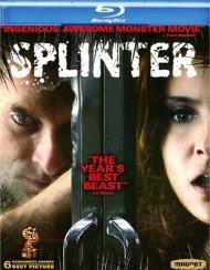 Splinter Blu-ray