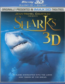 IMAX: Sharks (Blu-ray 3D + Blu-ray) Blu-ray