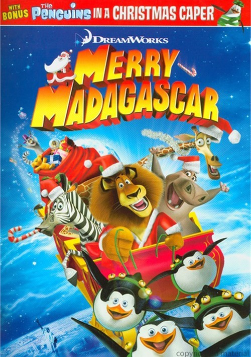 Merry madagascar dvd 2009 dvd empire