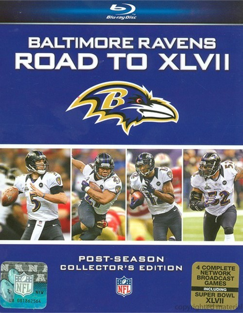 Baltimore ravens 2012 super bowl dvd : Mary and dad episode 100