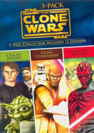 Star Wars: The Clone Wars Volumes - 3 Pack Movie
