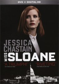 Miss Sloane (DVD + UltraViolet) Movie