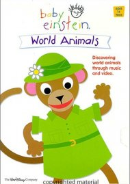 Baby Dolittle World Animals Coloring Book
