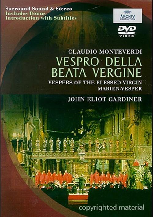 Vespro Della Beata Vergine Movie