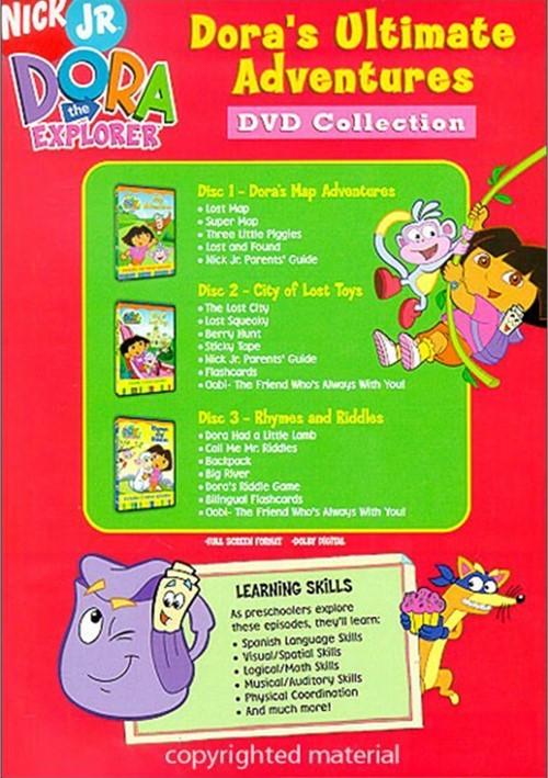 Dora The Explorer: Dora's Ultimate Adventures DVD ...
