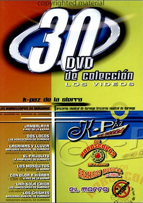 K-Paz / Horoscopos De Durango / Brazeros Musical: 30 DVD De Coleccion Movie