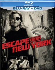 Escape From New York (Blu-ray + DVD Combo) Blu-ray