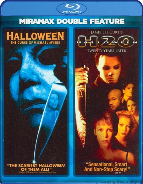 Halloween: The Curse Of Michael Myers / Halloween H20 (Double Feature) Blu-ray