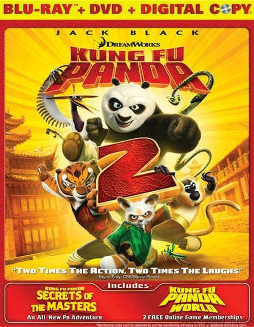 Kung Fu Panda 2 (Blu-ray + DVD + Digital Copy) Blu-ray