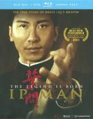 Legend Is Born, The: Ip Man (Blu-ray + DVD Combo) Blu-ray