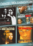 Denzel Washington: 4-Movie Spotlight Series Movie