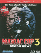 Maniac Cop 3: Badge Of Silence (Blu-ray + DVD Combo) Blu-ray