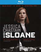 Miss Sloane (Blu-ray + DVD + UltraViolet) Blu-ray