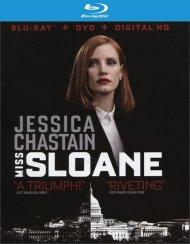Miss Sloane (Blu-ray + DVD + UltraViolet) Blu-ray