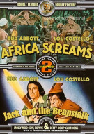 Abbott & Costello Double Feature: Africa Screams / Jack And The Beanstalk Movie