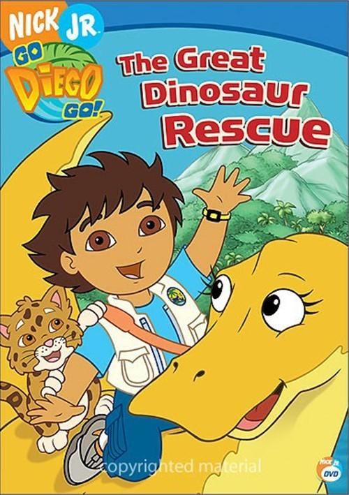 go diego go the great dinosaur rescue dvd 2006 dvd