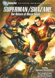 Superman / Shazam!: The Return Of Black Adam Movie