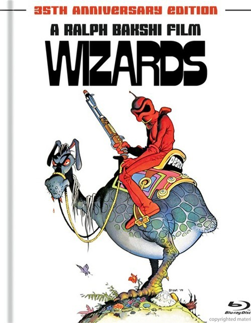 Wizards: 35th Anniversary Edition (Digibook) Blu-ray