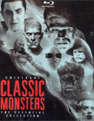 Universal Classic Monsters: The Essential Collection (Digibook) Blu-ray