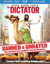 Dictator, The: Banned & Unrated Version (Blu-ray + DVD + Digital Copy + UltraViolet) Blu-ray