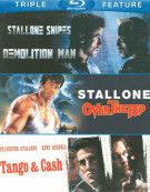 Sylvester Stallone: Triple Feature Blu-ray