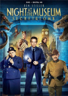 Night At The Museum: Secret Of The Tomb (DVD + UltraViolet) Movie
