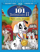 101 Dalmatians 2: Patchs London Adventure (Blu-ray + DVD + Digital HD) Blu-ray